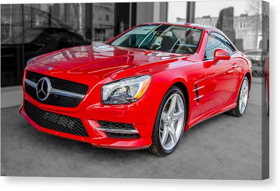 Mercedes Sl550   7d01718 Canvas Print
