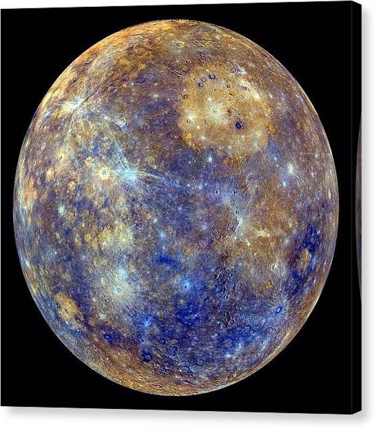 Mercury Canvas Print - #mercury #greateasternelongation by T C