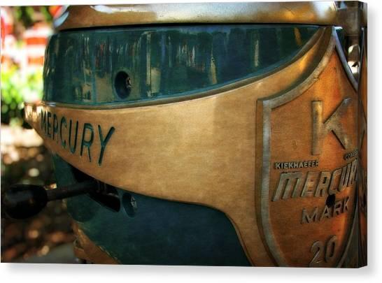 Mercury Mark 20 Outboard Motor Canvas Print