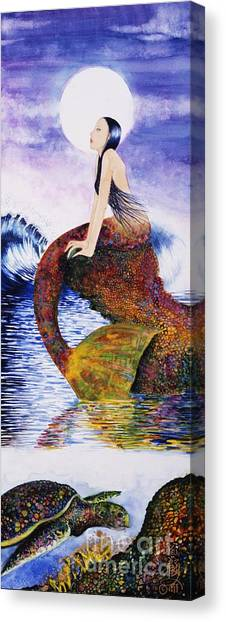 Mermaid Love Canvas Print