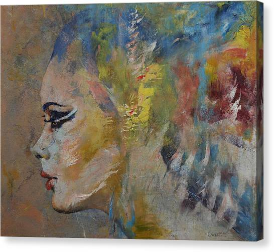 Mermaids Canvas Print - Mermaid by Michael Creese