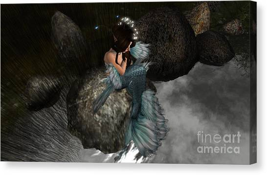 Mermaids Tail Canvas Print