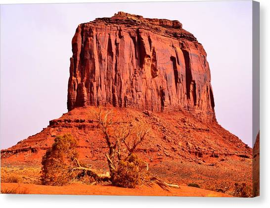 Merrick Butte Canvas Print
