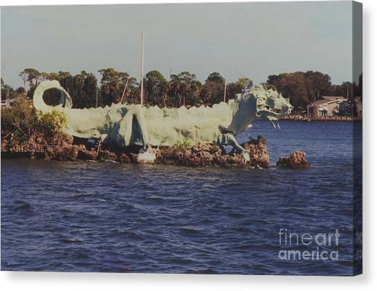 Merritt Island River Dragon Canvas Print