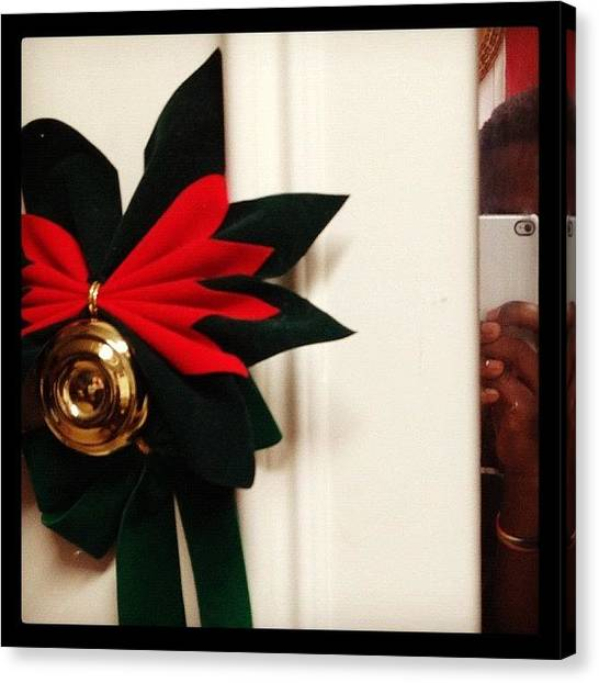 Canvas Print - Merry Non-white Christmas Everyone by Big Brother
