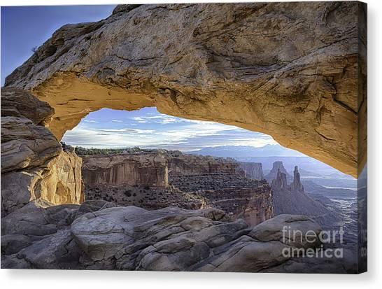 Mesa Arch Canyonlands Canvas Print