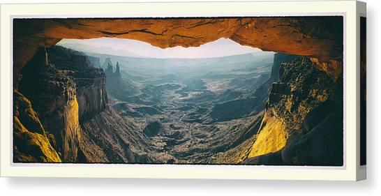 Mesa Arch Canvas Print by Robert Fawcett