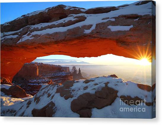 Mesa Sunrise Canvas Print