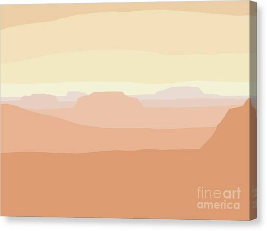 Mesa Valley Canvas Print