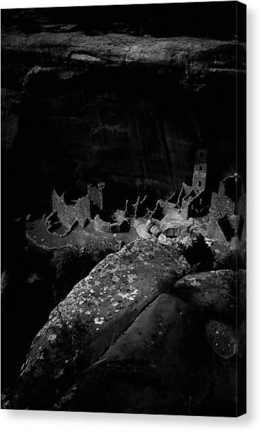 Mesa Verde Edged Into The Light Canvas Print