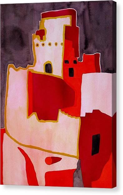 Mesa Verde Original Painting Sold Canvas Print