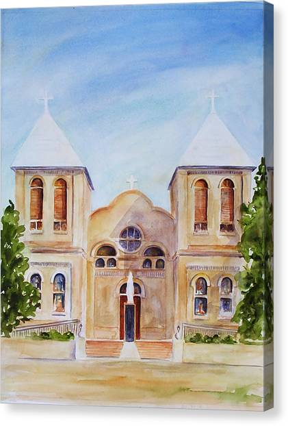 Mesilla Church Canvas Print