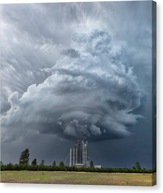 Cyclones Canvas Print - Mesocyclone by Rob Darby