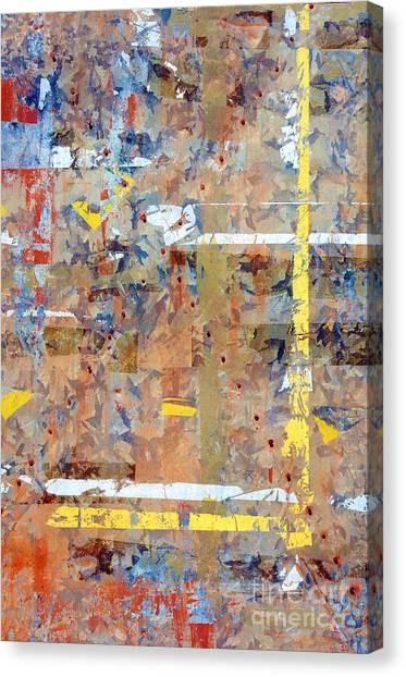 Placard Canvas Print - Messy Background by Carlos Caetano