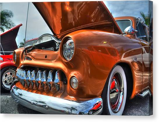 Metal Mouth Hot Rod Canvas Print