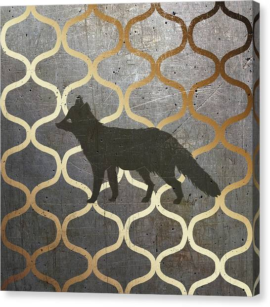 Pattern Canvas Print - Metallic Nature IIi by Andi Metz