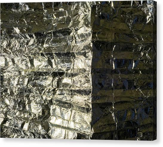 Metallic Reflection Canvas Print