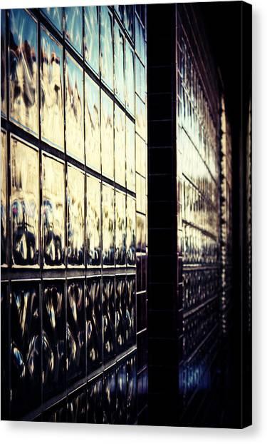 Metallic Reflections Canvas Print