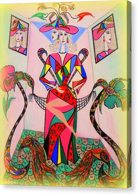 Eleonore Sweet 16th Canvas Print