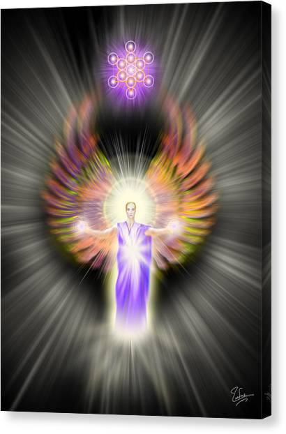 Metatron Canvas Print