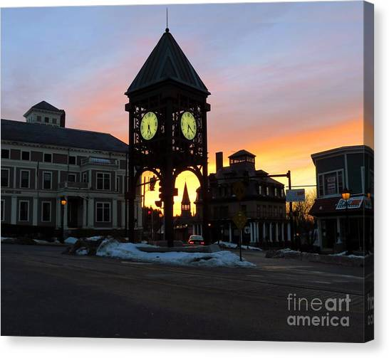Methuen Square Canvas Print