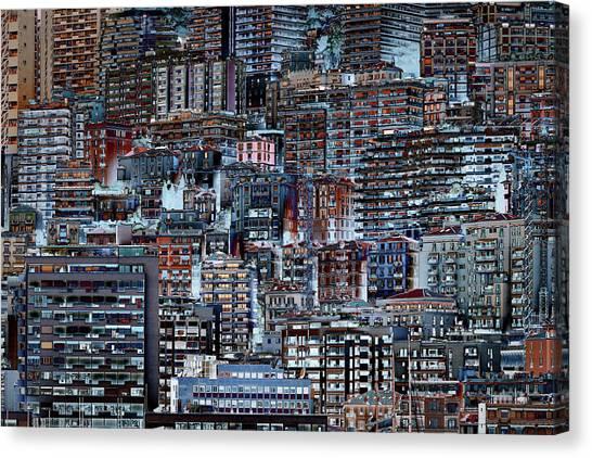 Metropolis Canvas Print - Metropolis by Hans-wolfgang Hawerkamp