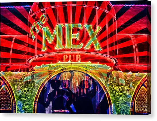 Mex Party Canvas Print