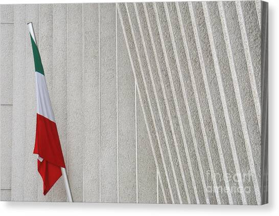 Mexican Embassy In Berlin Canvas Print