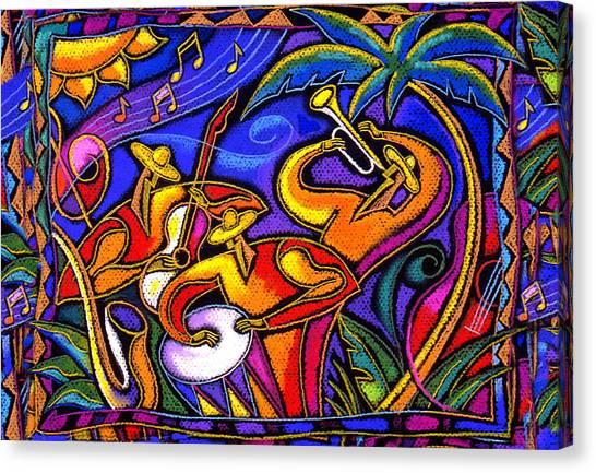 Latin Music Canvas Print