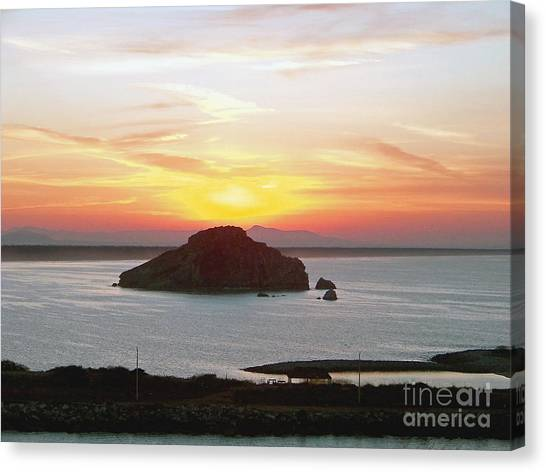 Mexican Riviera Sunset Canvas Print