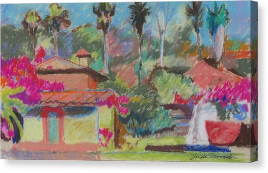 Mexican Spa Canvas Print