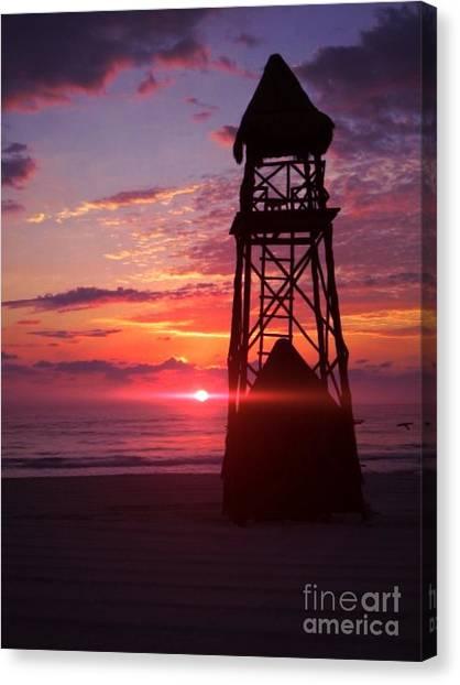 Mexican Sunset Canvas Print by Derek Conley