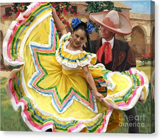 Mexicanhatdance Canvas Print