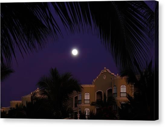 Mexico Moon Canvas Print