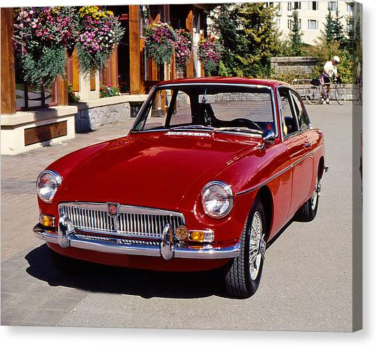 Mgb In Whistler Canvas Print