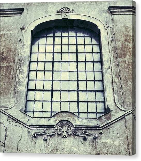 Architecture Canvas Print - #mgmarts #building #old #architecture by Marianna Mills
