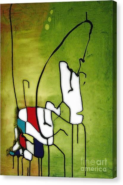Mi Caballo 2 Canvas Print