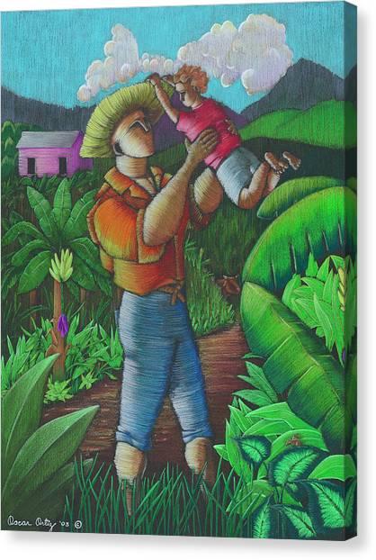 Mi Futuro Y Mi Tierra Canvas Print