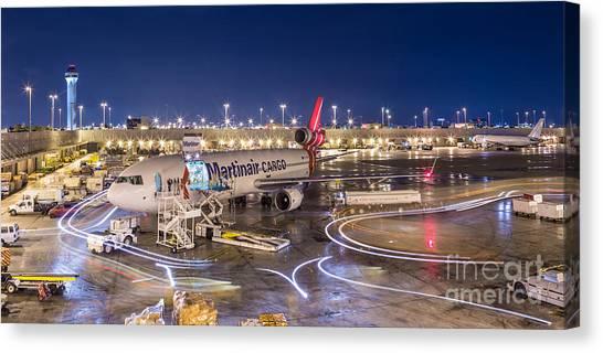 Miami Airport Canvas Print