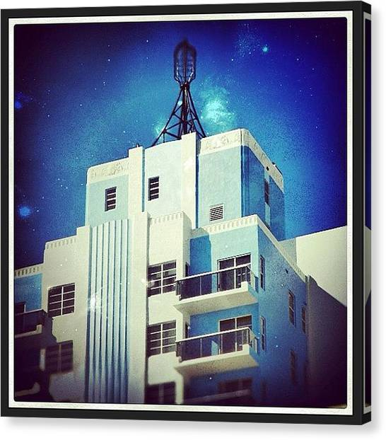 Art Deco Canvas Print - Miami by Dwight Darling