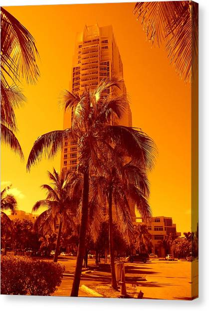 Miami South Pointe Iv Canvas Print