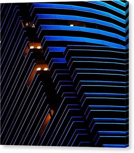Skylines Canvas Print - Miami Tower - Miami ( Details ) by Joel Lopez