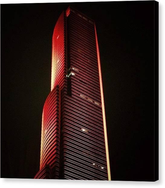 Miami Canvas Print - Miami Tower - Miami by Joel Lopez