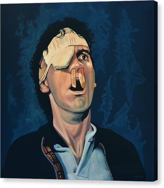 Pythons Canvas Print - Michael Palin by Paul Meijering