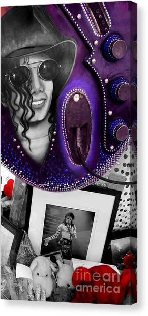 Michael's Memorial Canvas Print