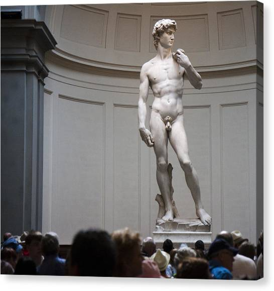 Michelangelo's David Canvas Print