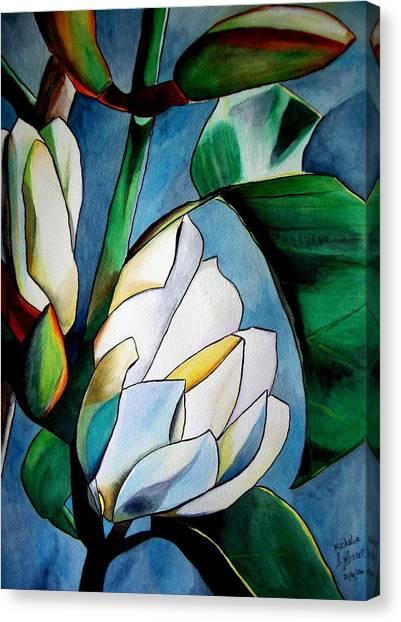 Michelia Canvas Print by Sacha Grossel