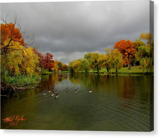 Michigan Autumn Canvas Print
