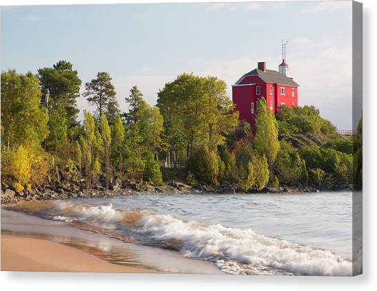 Marquette University Canvas Print - Michigan, Marquette by Jamie and Judy Wild