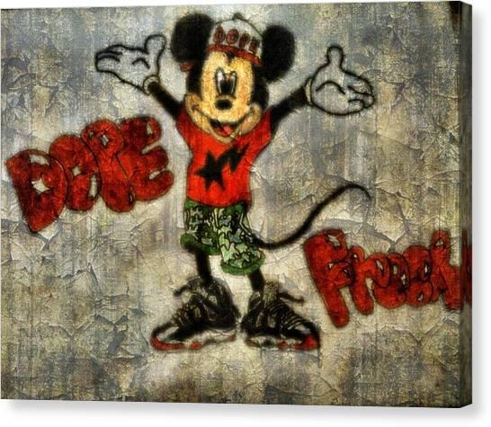 Mickey Of 11 Canvas Print by Travis Hadley